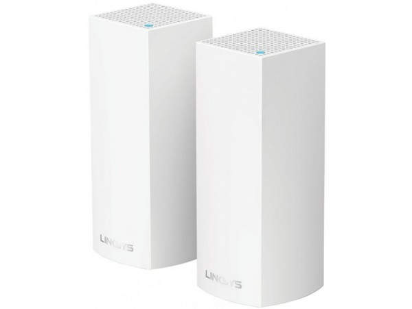 2-pack Linksys Velop Whole Home Intelligent MODULAR WiFi System AC2200 Tri-Band