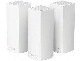 3-pack Linksys Velop Whole Home Intelligent MODULAR WiFi System AC2200 Tri-Band