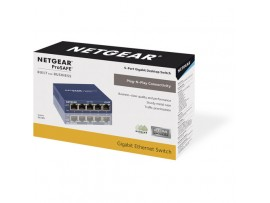 Netgear GS105 ProSafe 5-Port LAN Gigabit 100/1000Mbps Desktop Switch Ethernet