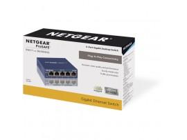 Netgear GS105 ProSafe 5-Port LAN Gigabit 100/1000Mbps Desktop Switch Ethernet