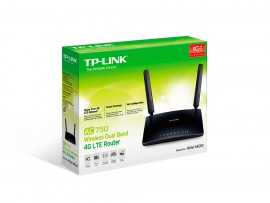 NEW TP-LINK Archer MR200 AC750 Wireless WiFi 5GHz Dual Band 3G/4G LTE SIM Router
