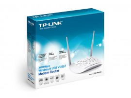 NEW TP-Link TD-W9970 300Mbps WiFi Wireless N USB Port VDSL2 ADSL Modem Router