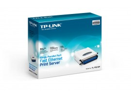 Brand NEW TP-LINK TL-PS110P Single Parallel Port Fast Ethernet Print Server LAN
