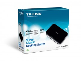 TP-LINK TL-SG1005D 5-Port 10/100/1000Mbps Gigabit LAN Desktop Switch Ethernet