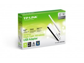 TP-Link TL-WN722N 150Mbps WiFi Wireless USB Adapter WPS Antenna Windows 7/8/10