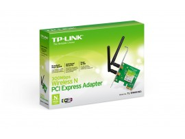 TP-Link TL-WN881ND 300Mbps WiFi Wireless PCI Express PCI-E Adapter Desktop Card