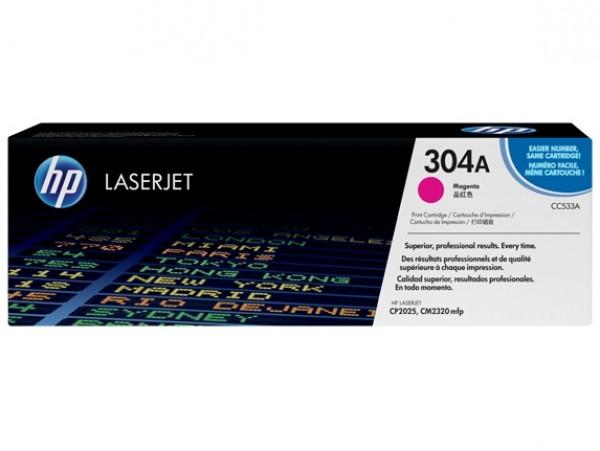 Genuine HP 304A Magenta CC533A Toner Cartridge Printer LaserJet CP2025 CM2320