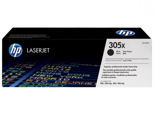 Genuine HP 305X Black High Yield CE410X Toner Cartridge LaserJet M375 M475 M451