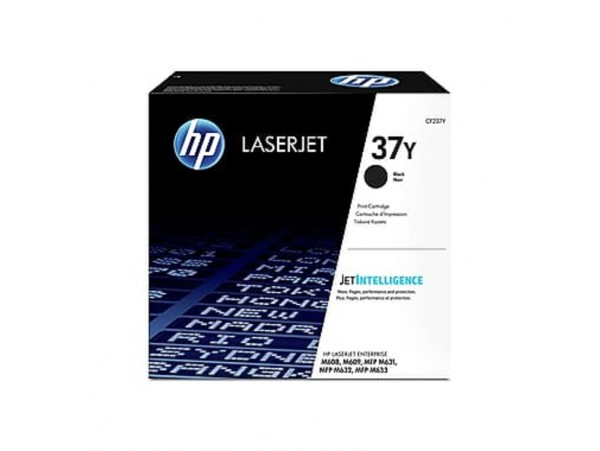 HP Extra 37Y Black CF237Y Toner Cartridge Color LaserJet Pro M631 M632 M608 M609