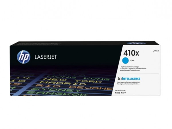 Genuine HP 410X High Yield Cyan CF411X Toner Cartridge LaserJet M452 M377 M477