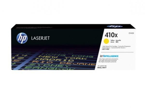 Genuine HP 410X High Yield Yellow CF412X Toner Cartridge LaserJet M452 M377 M477