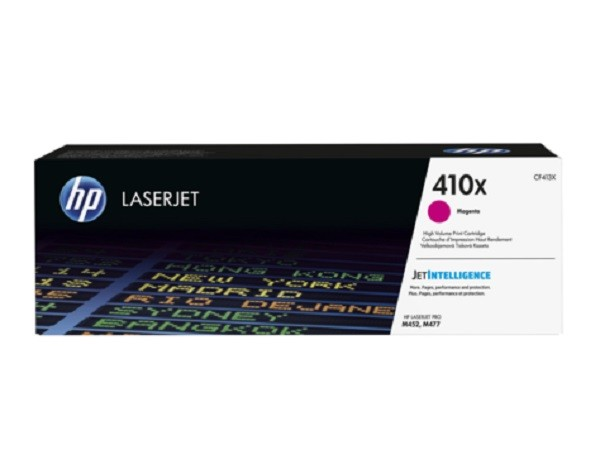 Genuine HP 410X HighYield Magenta CF413X Toner Cartridge LaserJet M452 M377 M477