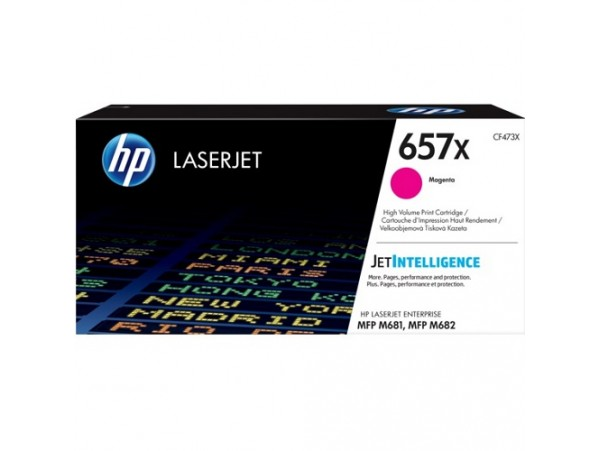 HP HighYield 657X Magenta CF473X Toner Cartridge Color LaserJetPro MFP M681 M682