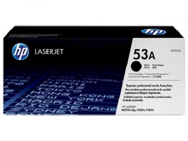 Genuine HP 53A Black Q7553A Toner Cartridge Printer Laserjet M2727 P2015 P2014