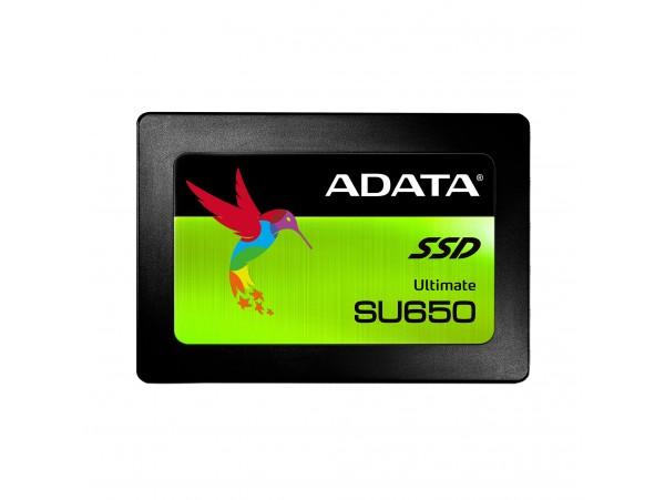 "ADATA 480GB SU650 SSD 2.5"" SATA3 BLACK ASU650SS-480GT-C LAPTOP Solid State Drive"