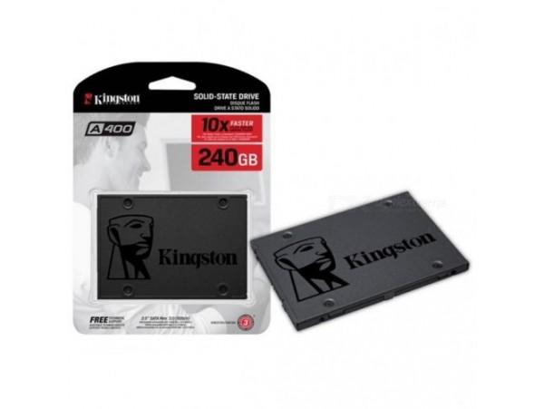 "Kingston SSD 240GB A400 2.5"" SATA3 TLC SA400S37-240G Laptop Solid State Drive"