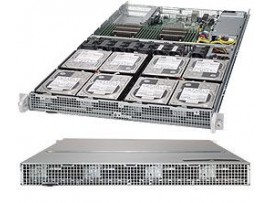 High Density 1U Server Dual Xeon, 128G, 40TB