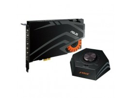 NEW Asus STRIX RAID DLX 7.1 PCI-E gaming sound card set audiophile-grade DAC