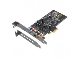 Creative Sound Blaster Audigy FX 5.1 PCI-E Sound Card SBX Pro Studio Low profile
