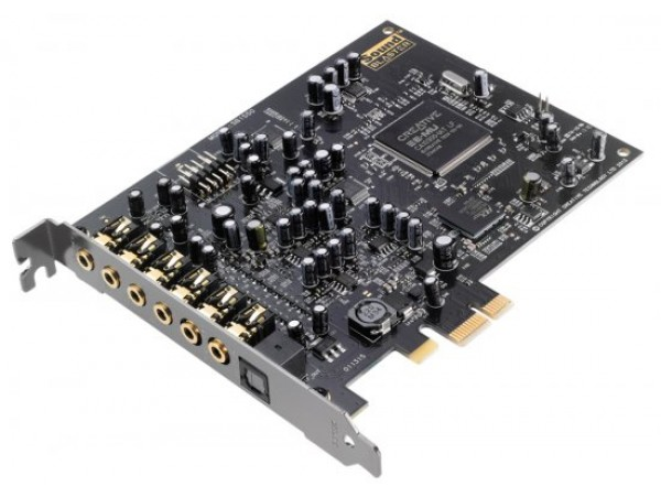 Creative Sound Blaster Audigy RX 7.1 PCI-E Sound Card Optimal Recording Solution