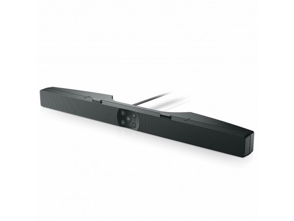 Dell Pro AE515M Stereo Sound USB powered Soundbar Dual microphone Skype Business