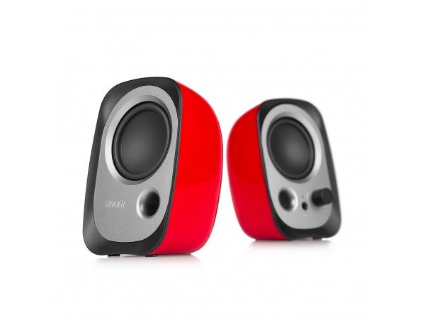 Edifier R12U RED 2.0 computer Speakers USB powered 3.5mm JACK Balanced sound