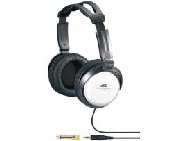 JVC HARX500 Black/Silver Full Size Stereo Headband Headphones Music MP3 3.5mm
