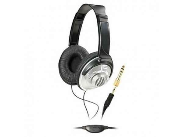 JVC HAV-570-K DJ FULL SIZE On-ear Stereo HEADPHONES 3.5mm jack MP3 MUSIC AUDIO