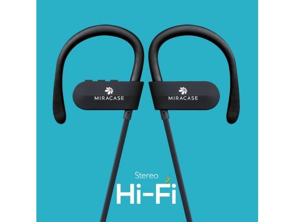 Miracase MBTS203 Black Sport Stereo Bluetooth Headset Headphones Earphones MIC