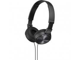 Sony MDRZX310 BLACK OnEar Stereo Headphones Headset Foldable Design MP3 Music 3mm jack