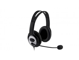 Microsoft LifeChat LX-3000 USB Headset Noise-cancel Microphone Skype JUG-00014