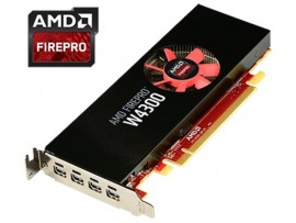 AMD FirePro W4300 4GB GDDR5 Professional Graphic Video Card Workstation 4xMiniDP