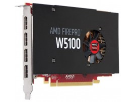 AMD FirePro W5100 4GB GDDR5 Professional Graphic Video Card Workstation 4xMiniDP