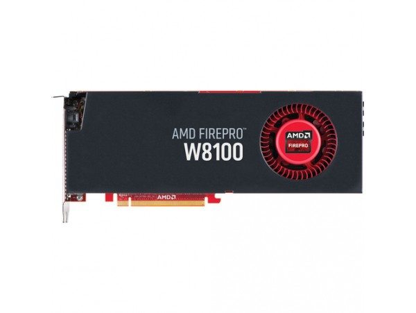 AMD FirePro W8100 8GB GDDR5 Professional Graphic Video Card Workstation 4xMiniDP