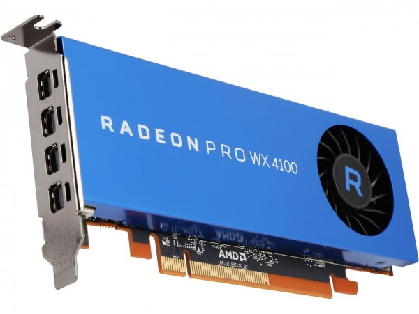 AMD Radeon Pro WX 4100 4GB GDDR5 PCI-E Workstation Graphic Card Low Profile mDP