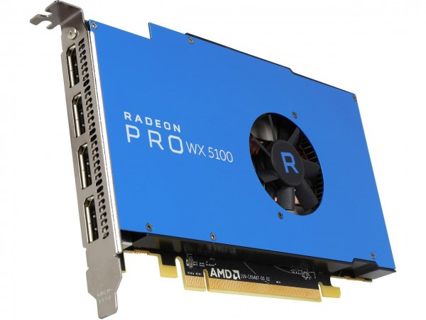 AMD Radeon Pro WX 5100 8GB GDDR5 PCI-E Workstation Graphic Card 4x DISPLAYPORT