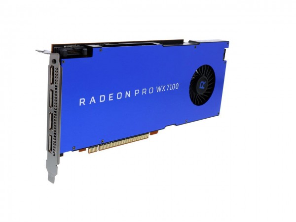 AMD Radeon Pro WX 7100 8GB GDDR5 PCI-E Workstation Graphic Card 4x DISPLAYPORT