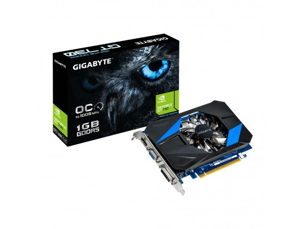 Gigabyte GeForce GT730 1GB DDR5 GV-N730D5OC-1GI PCI-E Video Card HDMI DVI VGA