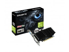 Gigabyte GeForce GT710 1GB DDR3 GV-N710SL-1GL PCI-E Video Card Passive Cooling
