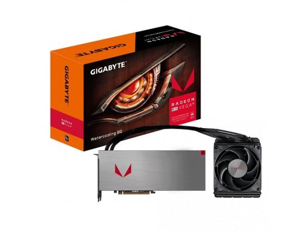 Gigabyte RX Vega64 8GB GDDR5 Watercooling GV-RXVEGA64X W-8GD-B PCI-E Video Card
