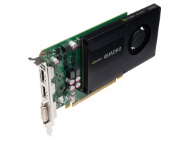 NVIDIA Quadro K2000 2GB GDDR5 PCI-E Video Graphics Card DVI Dual DP CUDA Cores