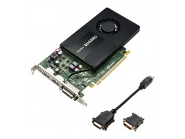 NEW NVIDIA Quadro K2200 4G DDR5 PCI-E Video Card Graphic CUDA Cores Dual DVI DP