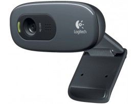 Logitech C270 HD 720p 3MP video calling WebCam Built-in Micphone USB PC Skype