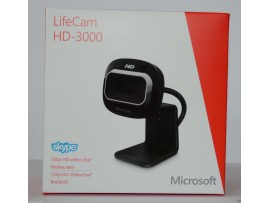 Microsoft LifeCam HD-3000 USB Web Camera HD 720P PC Skype WebCam Mic Video Chat